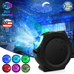 Wifi Smart Romantic Starry Light Galaxy Night Sky Projector Lamp Music Kids Gift $39.99