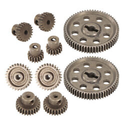 10x Spur Differential Main Gear Set Motor Pinion Gears for Redcat RC Parts $15.76