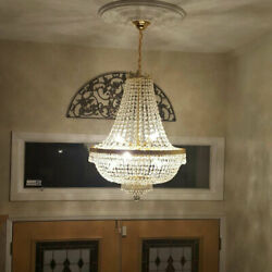 Crystal Chandelier Light Fixture Palace Empire Style Elegance Lamp 30