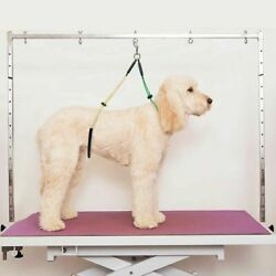 Dog Pet GROOMING TABLE ADJUSTABLE HARNESS NO SIT Haunch Holder RESTRAINT Support $9.78