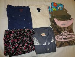 Lot of Summer Girl#x27;s clothes Sz 7 10 12 Catamp; JackOld NavyRalph LaurenLA Co $15.00