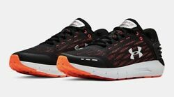 UNDER ARMOUR SNEAKER UA CHARGED ROGUE MEN#x27;S RUNNING SHOES BLACK W ORANGE $84.99