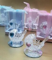 12 Crystal Carriage Baby Shower Favors Girl amp; Boy Party Favors $27.99