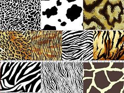 Animal Prints 100% Cotton Variety of Designs Your Choice by the Yard $4.50