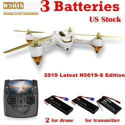 Hubsan H501S Quadcopter 5.8G FPV Brushless 1080P GPS Drone,SS Edition+3Batteries $158.00