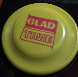 Vintage Collectible Wham O GLAD Bags Frisbee UNUSED GLAD TIME $12.99