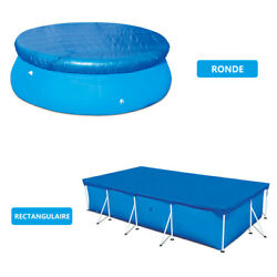 Round Rectangular Swimming Paddling Pool Cover Protection UV-resistant Dustproof $25.99