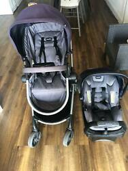 Evenflo Travel System Stroller and Car Seat Navy blue $110.00