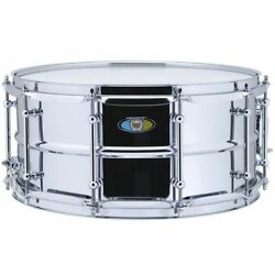 Ludwig LW6514SL Supralite Steel Snare Drum 6.5quot; x 14quot; $199.00