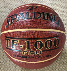 Spalding TF 1000 AAU Basketball 29.5quot; NFHS Indoor Elite Play Composite Leather $37.97