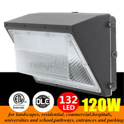 120W LED Wall Pack Commercial Industrial Light Outdoor Security Lighting Fixture $68.96