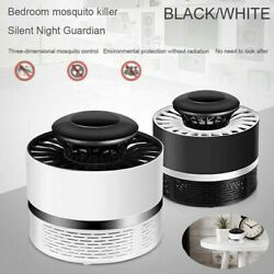 USB Bug Insect Zapper Mosquito Killer Indoor Fly Pest Trap Inhaled Lamp Light GO $10.69