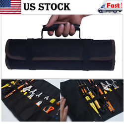Multi-function Electrician Tool Pocket Bags Roll Up Organizer Bags Storage Pouch $8.54