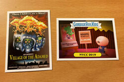 NYCC 2019 Topps GARBAGE PAIL KIDS Village of the Adamed ADAM BOMB GPK exclusive $49.99