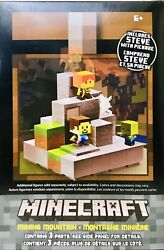 1 Minecraft Cave Biome Collection 1 Mining Mountain Steve With Pickaxe Age 6 Up $34.99