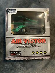 XB Air Victor 2ch Mini Infrared Remote Control Helicopter Toy Brand New * $19.00
