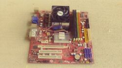 MSI Motherboard 2.5GHz CPU 4G Memory Combo Built In RAID 1 5 JBOD $29.00