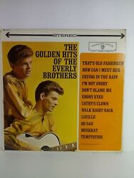 Golden Hits Of The Everly Brothers Vinyl Lp WS 1471 $4.95