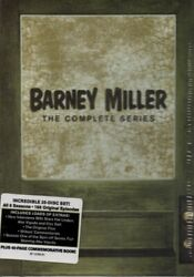BARNEY MILLER  The Complete Series 25 DVD Box Set New USA Free Shipping $49.75