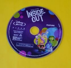 INSIDE OUT BLU-RAY DISC ONLY  $5.25