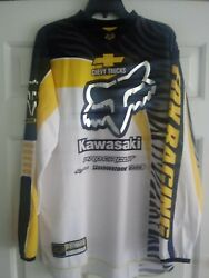 James Bubba Stewart 259 Kawasaki Fox Motocross Jersey replica $305.00