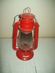 vintage Dietz red lantern made in British Hong Kong circa 1970#x27;s nice and clean $25.00