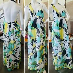 Emilio Pucci Cotton & Silk Halter Style Dress or Beach Cover Up Size 4 $500.00