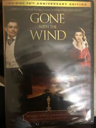 Gone With the Wind DVD 2009 2-Disc Set 70th Anniversary Edition Same Day Ship $27.50