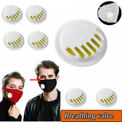 Face Masks Air Breathing Valve Filters DIY Replacement Exhaust Valve Parts NEW $5.98