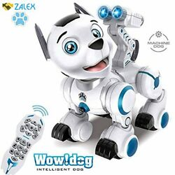 WomToy Remote Control Robotic Dog RC Robot Dog Electronic Pets Interactive Inte $78.15