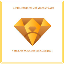 4000000 ONE DEX (4 Million ODEX) CRYPTO MINING-CONTRACT Crypto Currency $3.98