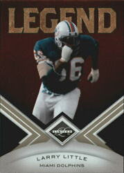 2010 Limited Football Card #134 Larry Little 499 $0.99