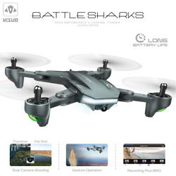 VISUO XS816 Drone With Camera 1080P Foldable Altitude Hold Quadcopter Toy K7V0 $63.92