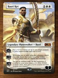 1x Basri Ket Full Extended Alternate Art - M21 Core 2021 - #280 - ON HAND