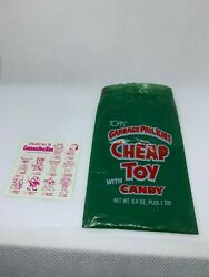 1986 Garbage Pail Kids Cheap Toys Bag with Collector Card $15.00