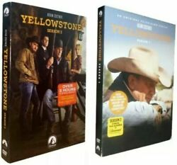 Yellowstone : The Complete Series Season 1 - 2  (DVD 8-Disc Set) Free Shipping $28.99