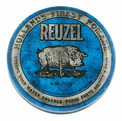 Reuzel Blue Pomade Strong Hold Water Soluble 4 oz. Hair Wax & Pomade $12.10