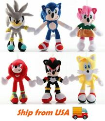 Sonic the Hedgehog Sonic Plush Toy Stuffed Doll Kids Gifts $14.99