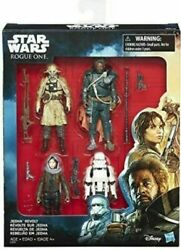 Star Wars Rogue One Jedha Revolt 4 Pack Brand New Factory Sealed $22.99