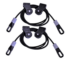 Tower 200 Power Replacement Cords 15Lb Door Gym Accessories Straight Bar Handles $24.50