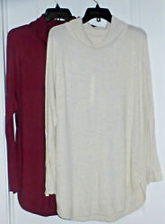CASLON Nordstrom Womens Turtle Neck Tunic Top Various NWT $19.99