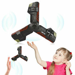 Mini UFO Creative Aircraft Flying Toy Remote Control UFO Boomerang 2.4G Toy US $8.45