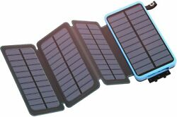 Solar Wireless Power bank Outdoor Portable -Waterproof-FASTER CHARGING $38.99
