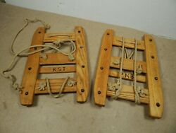 vintage Swiss Military SNOWSHOES Unissued $79.20