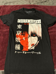 TOKYO GHOUL T SHIRT Anime Funimation Black - X Small $8.00