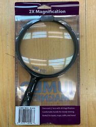 Great Point Light Portable Jumbo Magnifier * Crafting - Reading * Black $12.99