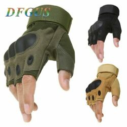 Tactical Fingerless Gloves Military Army Shooting Paintball Airsoft Bicycle Moto $19.99