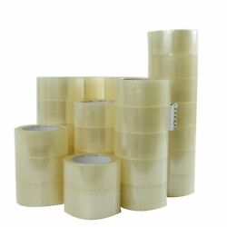 36 ROLLS - 2 INCH x 110 Yards (330 ft) Clear Carton Sealing Packing Package Tape $36.98