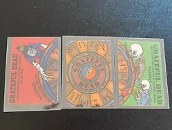 Grateful Dead Rare PUZZLE Backstage Pass SET 3 NIGHTS in VEGAS 1992 wheel