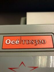OCE TDS 320 Wide Format Printer Scanner Plotter Blue Print W Controller $2,800.00